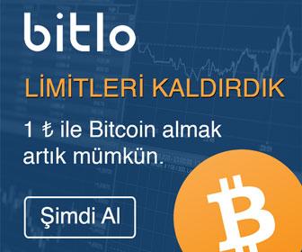 Bitlo ile Bitcoin Al Sat